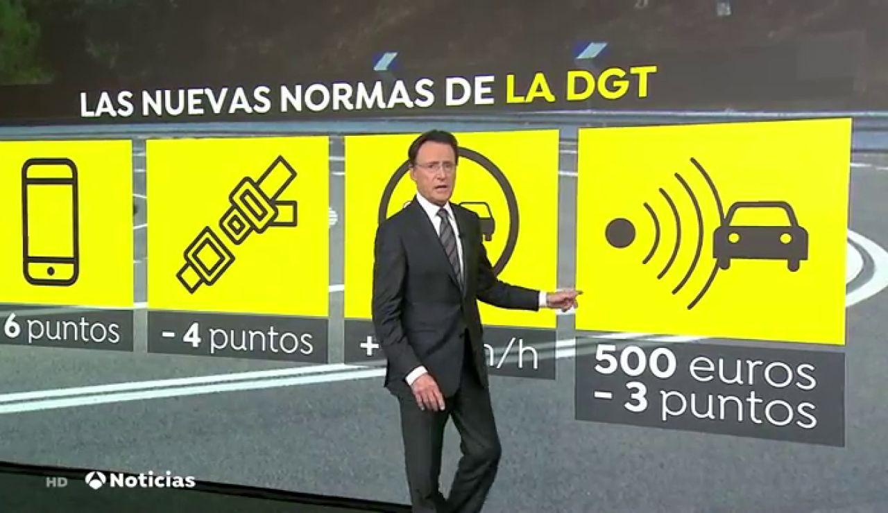 Entran en vigor las nuevas normas de la DGT: radares, multas por el móvil, movilidad personal y velocidad urbana