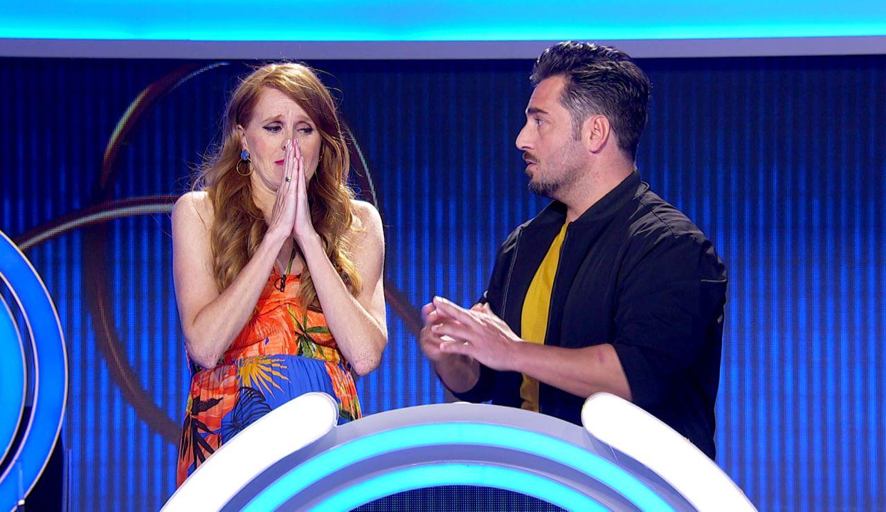 La señal de tráfico que hace sudar a David Bustamante y María Castro en 'El juego de los anillos'