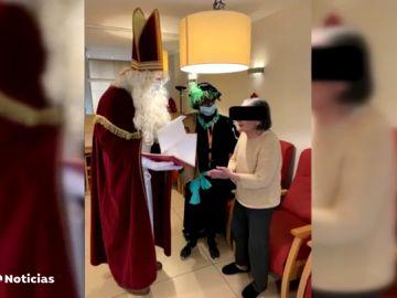Mueren 27 personas tras la visita de un San Nicolás con coronavirus a una residencia en Bélgica