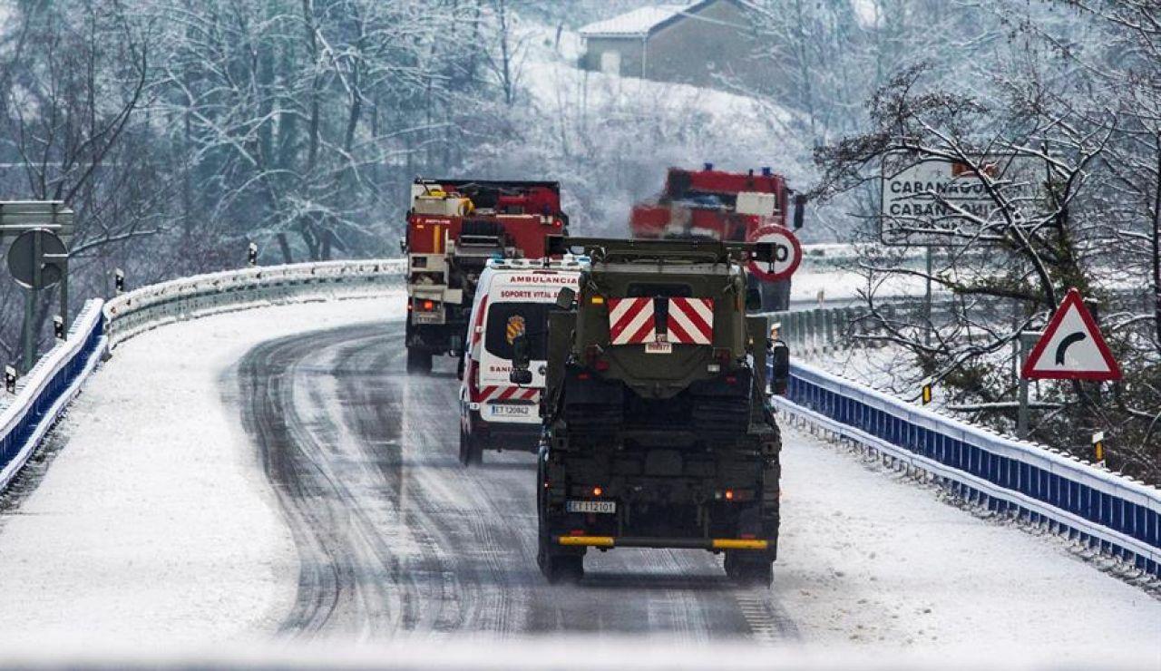 Un operario fallecido y otro desaparecido en el alud producido en Asturias