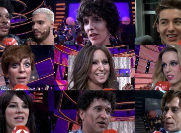 Los concursantes, muy emocionados, comparten sus sensaciones a las puertas de la final de 'Tu cara me suena'