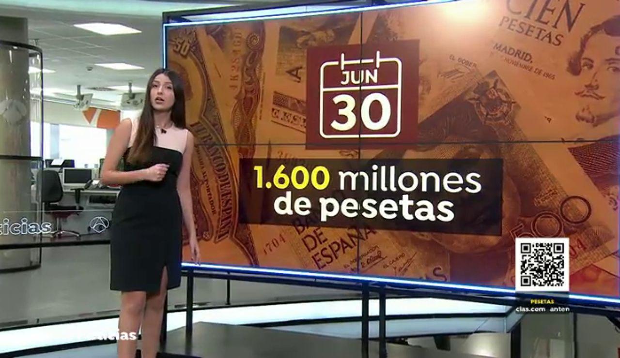 El adiós definitivo a las pesetas: estas son las que puedes canjear hasta el 30 de junio