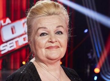 Naida Abanovich, ganadora de 'La Voz Senior'