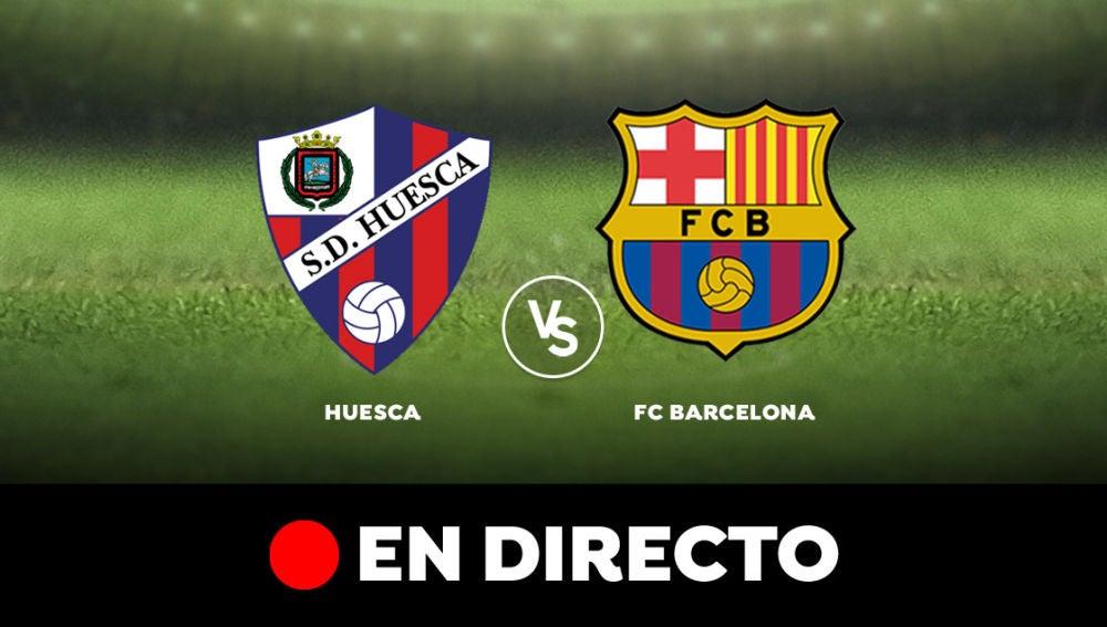 Huesca - Barcelona: Resultado y goles del partido de hoy, en directo | Liga Santander