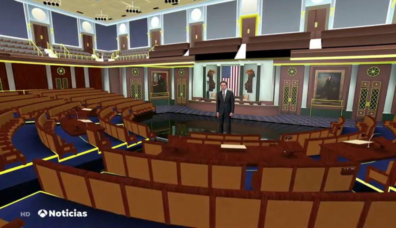 Matías Prats se 'cuela' en el Senado de Estados Unidos