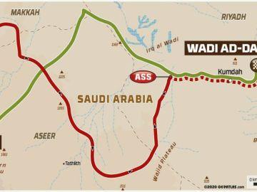Rally Dakar 2021: Recorrido de la etapa 2 hoy, lunes 4 de enero, Bisha - Wadi Ad-Dawasir