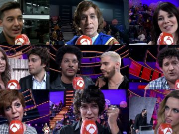 Los concursantes lanzan un mensaje de esperanza a los espectadores de 'Tu cara me suena'