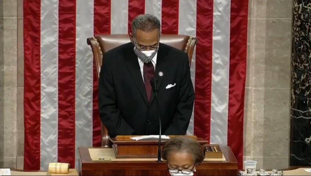 Polémica en el Congreso de Estados Unidos por utilizar las palabras 'amén' y 'mujer' en el discurso de apertura
