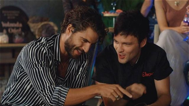 Maxi Iglesias y Adam Jezierski en 'FoQ: el reencuentro'