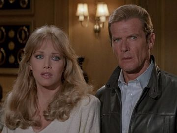 Tanya Roberts en 'Panorama para matar'