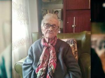 Modesta, la abuela de 104 años