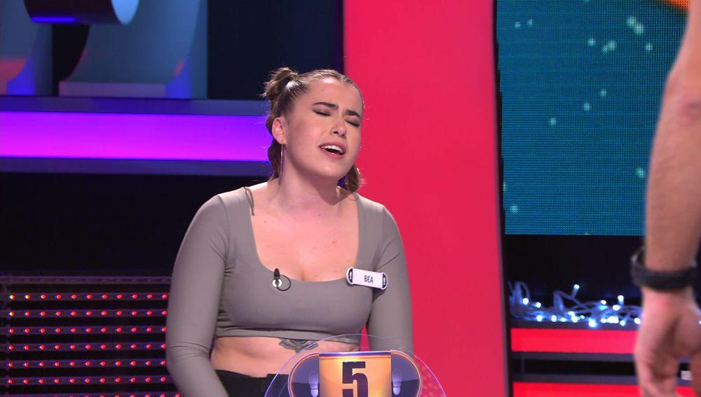 Bea sorprende en '¡Ahora caigo!' cantando como Beyoncé en 'Dreamgirls'