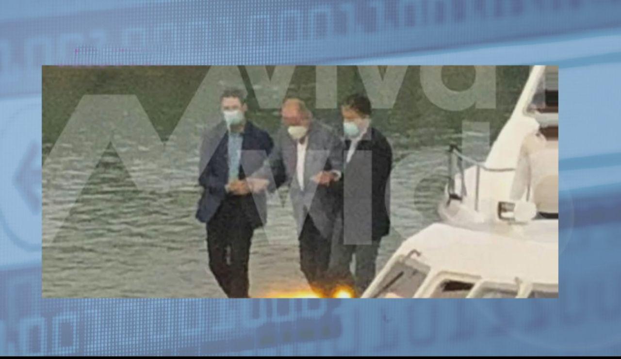 Fotografían al Rey Juan Carlos en Abu Dhabi cinco meses después de su salida de España