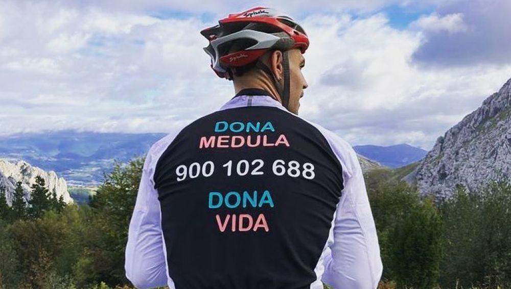 El increíble reto de Mauri: ascender a Urkiola en bici 365 días seguidos para fomentar la