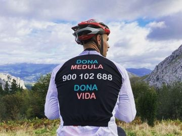 El increíble reto de Mauri: ascender a Urkiola en bici 365 días seguidos para fomentar la donación de médula