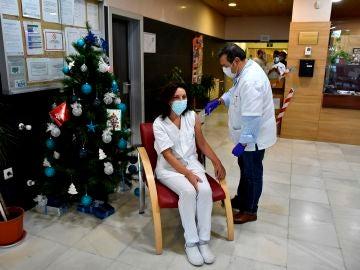 Proceso de vacunación contra el coronavirus