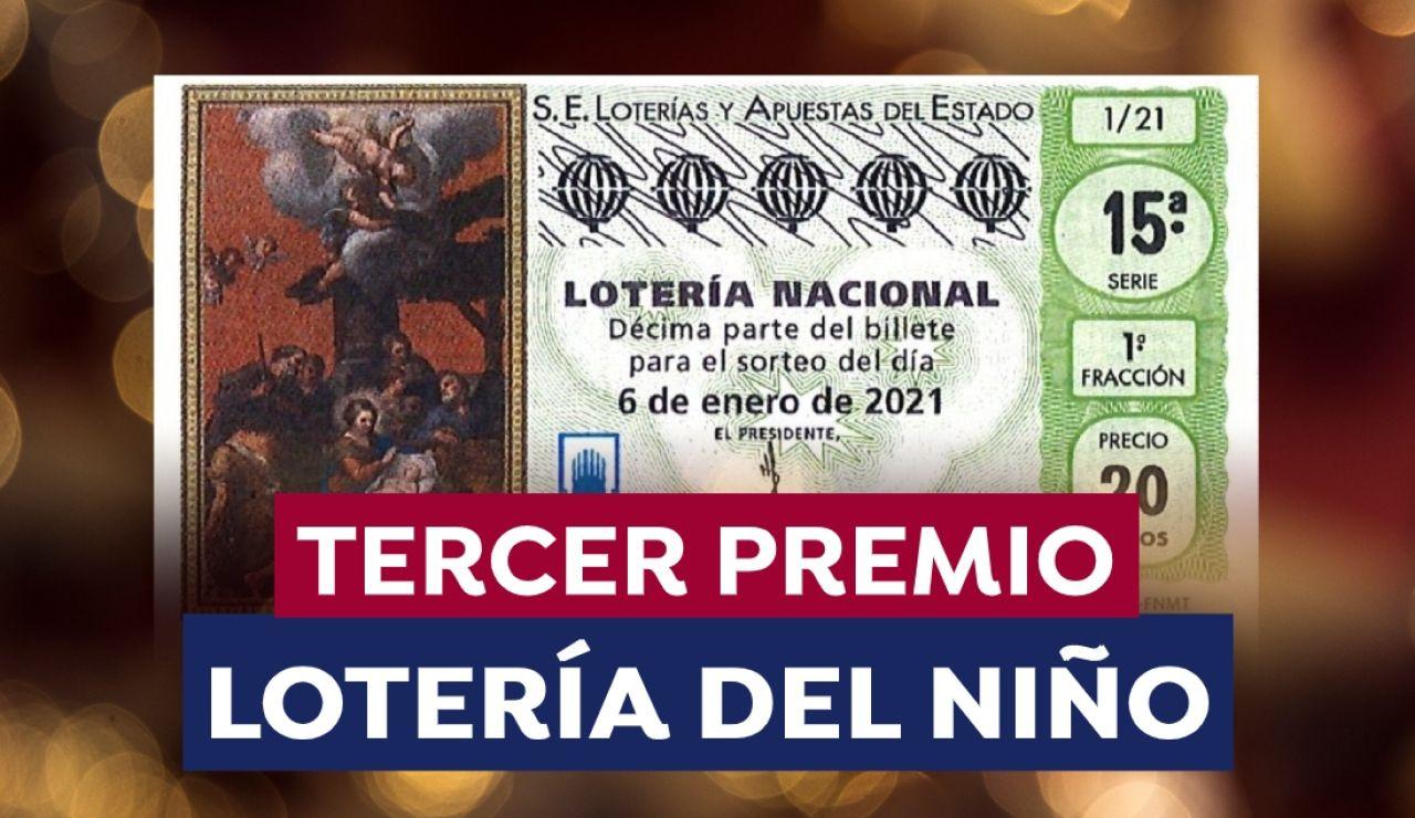 Lotería del Niño 2021: Tercer premio del sorteo de hoy 6 de enero