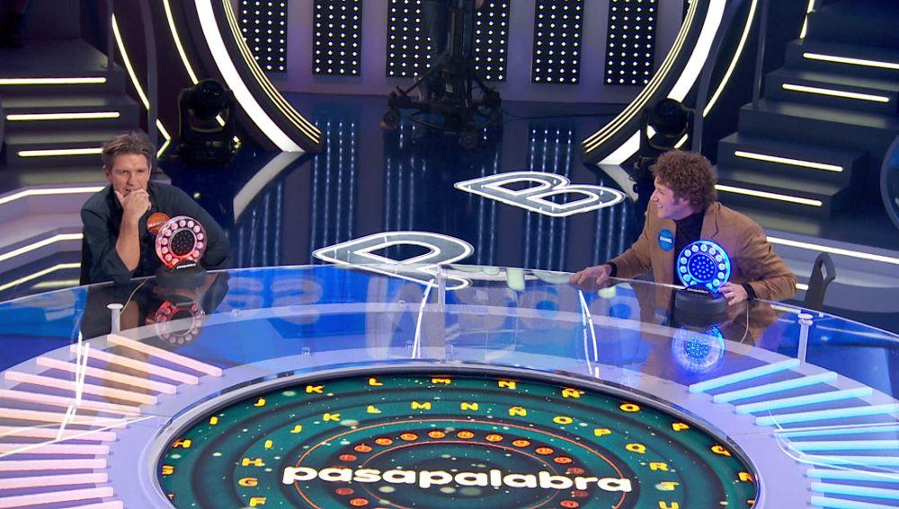¿J Balvin o Bob Esponja? La confusión de Daniel Diges y Manuel Díaz en 'La Pista'