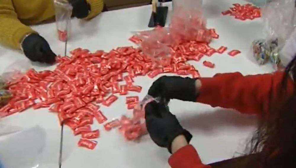 Desinfección caramelos en Granada