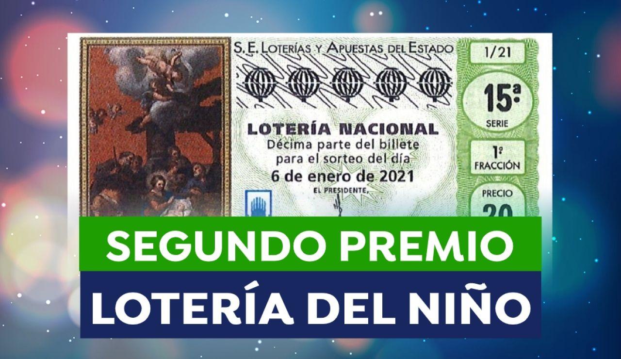 Lotería del Niño 2021: Segundo premio del sorteo de hoy