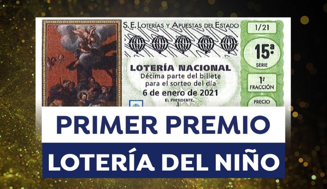 Lotería del Niño 2021: Primer premio del sorteo del Niño hoy