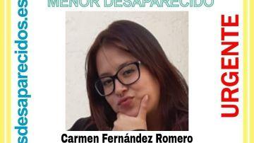 Desaparece en Madrid, Carmen Fernández Romero, una adolescente de 17 años