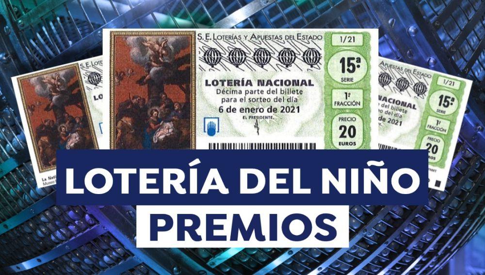 Lotería del Niño 2021: Premios por décimo del Sorteo Extraordinario del Niño