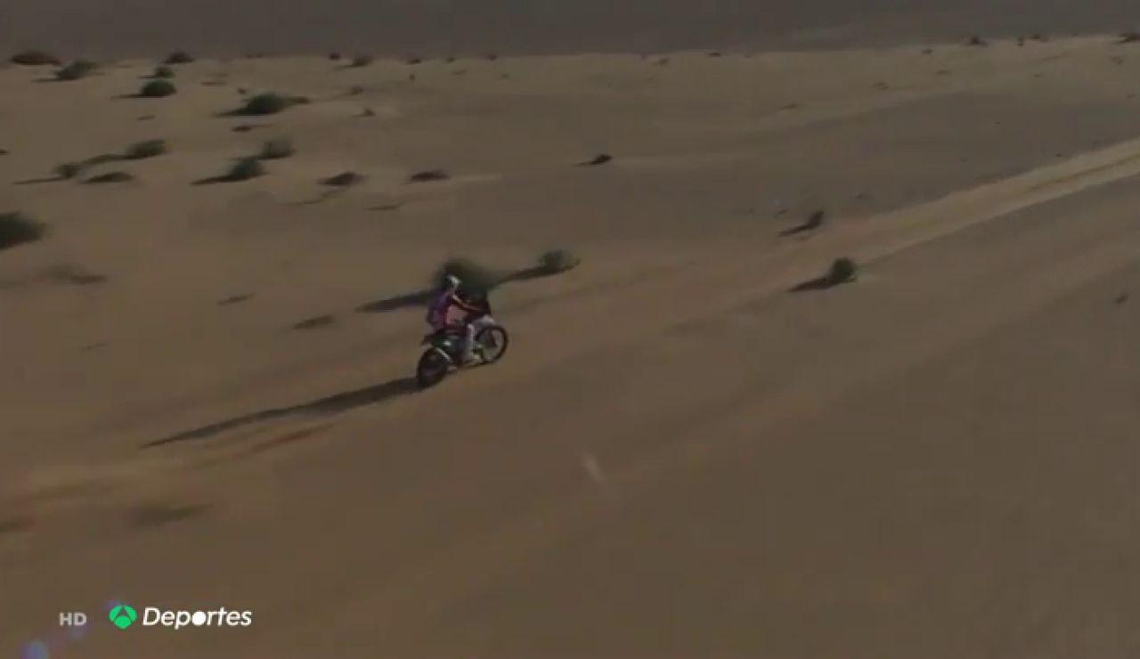 El piloto CS Santosh, en coma inducido tras sufrir un accidente en el Rally Dakar 2021