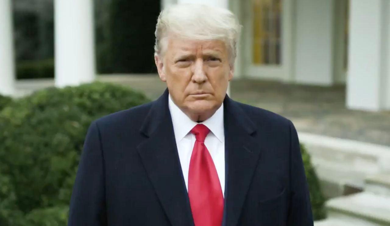 """Asalto al Congreso de los Estados Unidos: Donald Trump a los asaltantes del Capitolio: """"Sabemos son unas elecciones robadas, pero tenéis que volver a casa"""""""