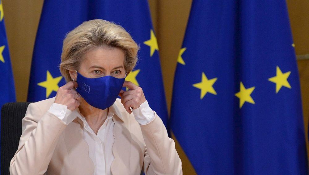 La presidenta de la Comisión Europea, Ursula Von der Leyen, en una foto de archivo.