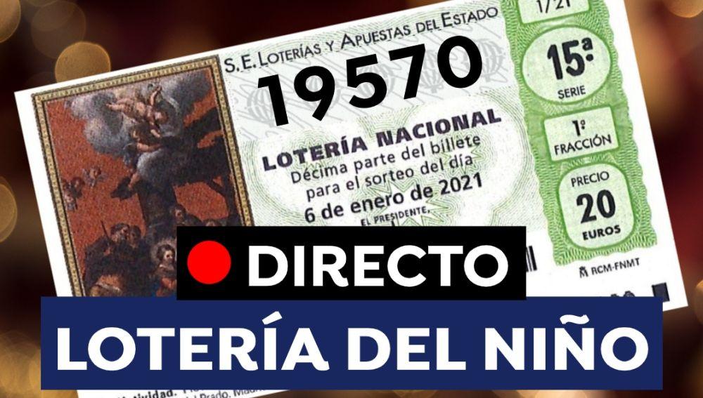 Lotería del Niño 2021: Comprobar número y resultado del sorteo de hoy 6 de enero, en directo