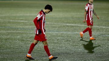 Joao Félix tras la eliminación ante el Cornellá en Copa del Rey