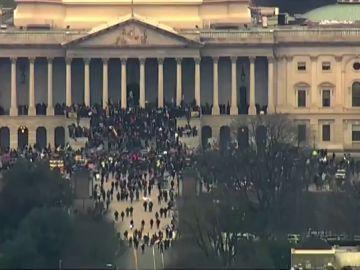 Seguidores de Donald Trump asaltan el Capitolio de EEUU, streaming en directo
