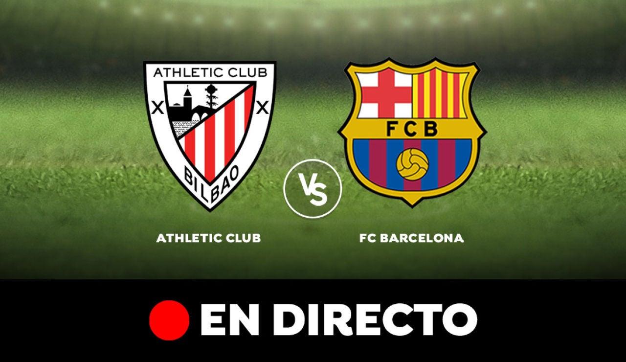 Athletic Club - Barcelona: Resultado y goles del partido de hoy, en directo | Liga Santander