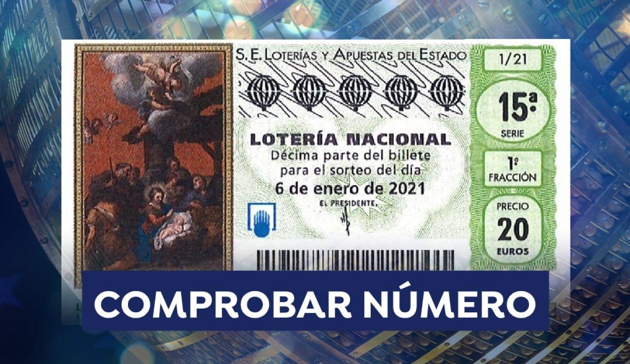 Comprobador Lotería del Niño 2021: Comprobar resultado del sorteo de hoy 6 de enero