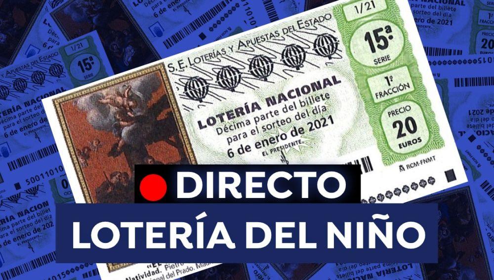 Lotería del Niño 2021 en vídeo: Streaming del sorteo de hoy 6 de enero, en directo