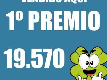 Lotería del Niño 2021: La 'Doña Manolita gallega', en Porriño, Pontevedra, vende el primer y tercer premio