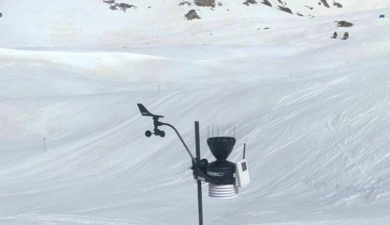 El parque natural de Alto Pirineo bate récord de temperatura
