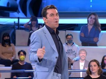 Arturo Valls sorprende en '¡Ahora Caigo!' con un clásico paso de baile de Beyoncé