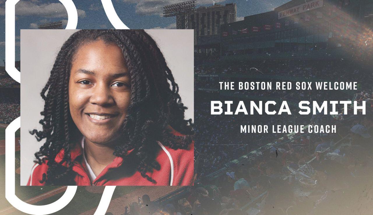 Los Boston Red Sox contratan a Bianca Smith, la primera mujer negra entrenadora en la historia del béisbol