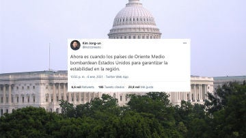 Así ha vivido @norcoreano el asalto al Capitolio