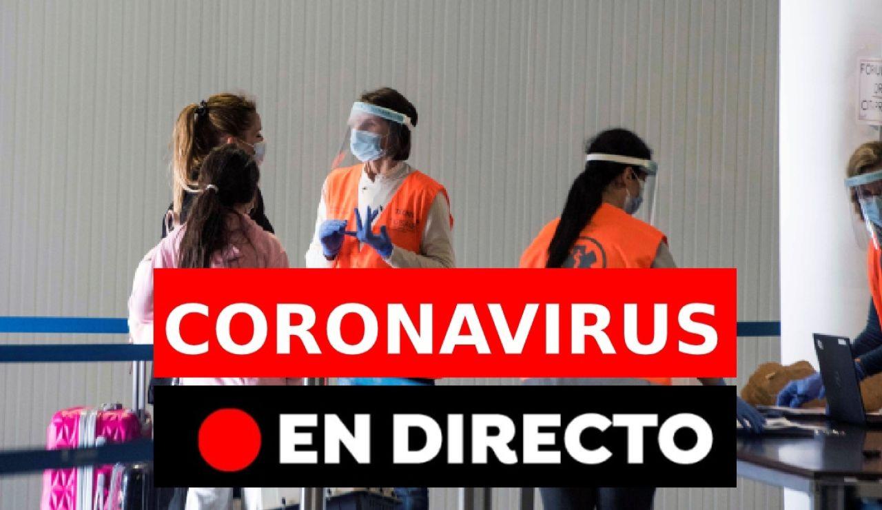 Coronavirus en España hoy: vacunación, restricciones y datos, en directo