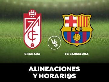 Granada - Barcelona: Horario, alineaciones y dónde ver el partido en directo | Liga Santander