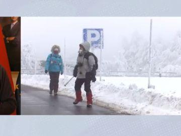 Almeida indica los medios de Madrid de cara a la nevada
