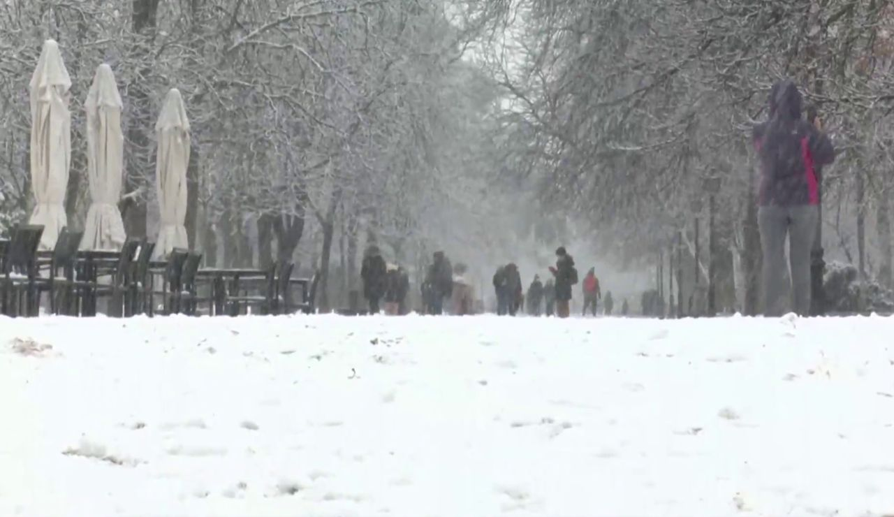 El temporal Filomena durará hasta el domingo