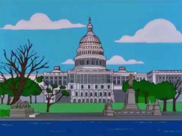 Los Simpson predijeron el asalto al Capitolio