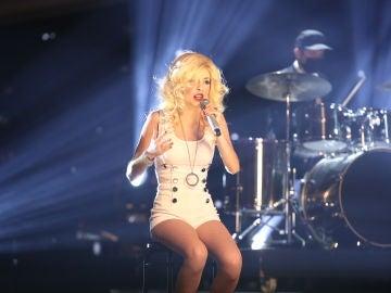 Nerea Rodríguez se deja la piel con 'Beautiful' de Christina Aguilera en la Gran Final