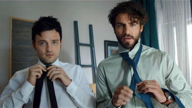 Adam Jezierski y Maxi Iglesias en 'FoQ: el reencuentro'