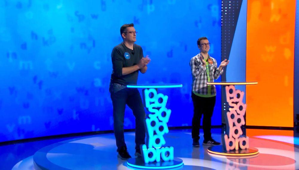 Luis y Pablo a dos palabras de 1.090.000€, ¿se arriesgarán por el bote?