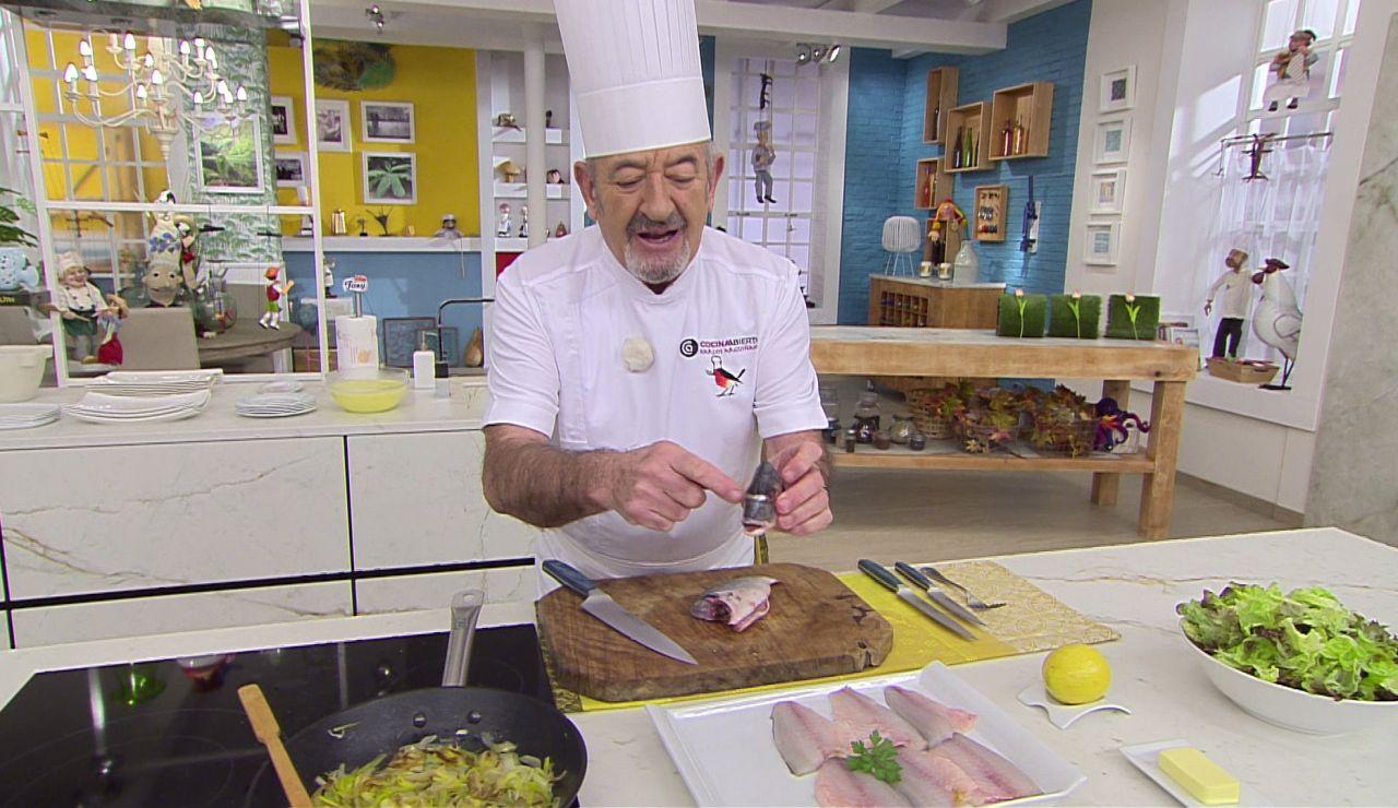 Karlos Arguiñano te enseña el truco para diferenciar la Dorada de otros pescados